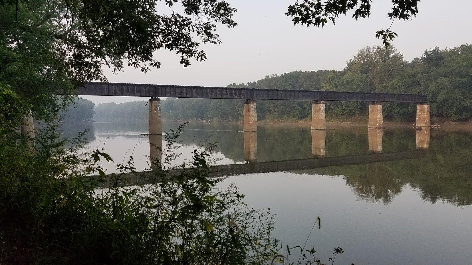 Covington Train Bridge